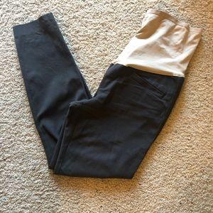 Gap Maternity Gray Skinny Ankle Pants Size 10